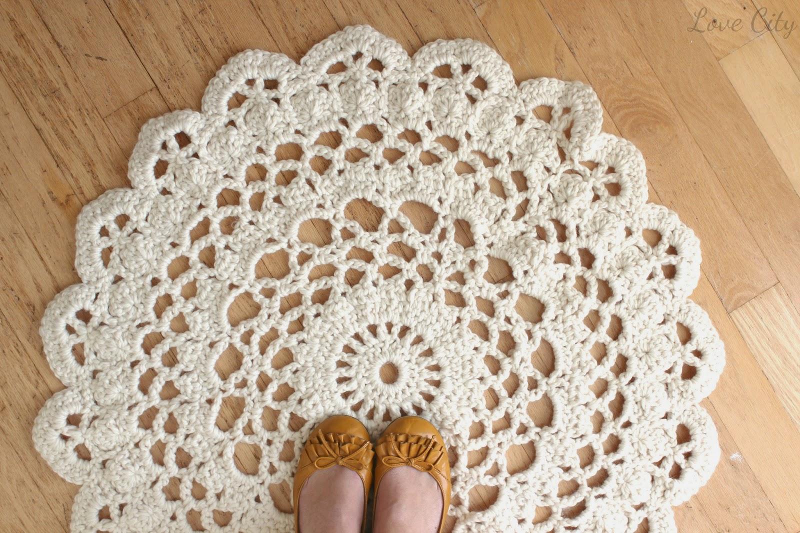 Cómo atar una alfombra redonda. Alfombra tus propias manos de cosas ...