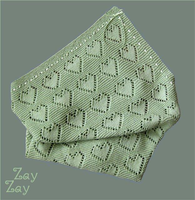 Manta tejida para bebés. Materiales para mantas de niños
