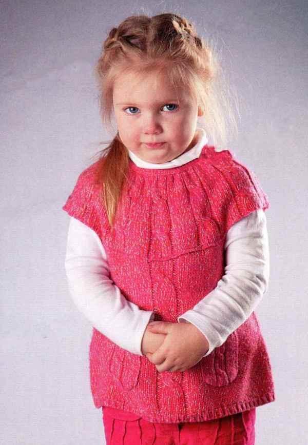 вязание туники спицами детям видео мастер класс по вязанию платье