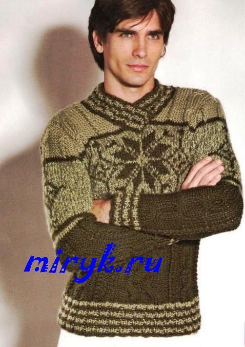 pullover disegno un maschile un semplice Knitting Maglieria per è tPYw66Uq