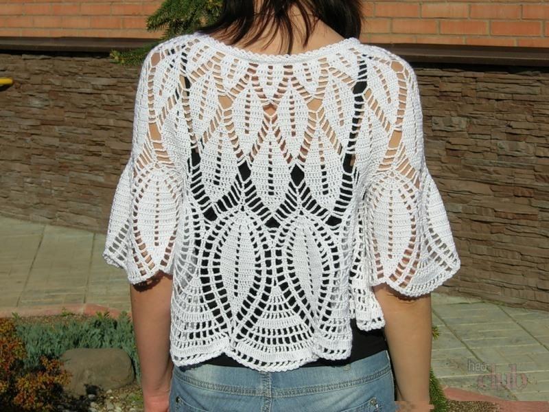 Cómo tejer una túnica para una mujer. Ganchos de ganchillo de verano