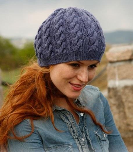 шапка с одной косой видео шапка с крупной косой
