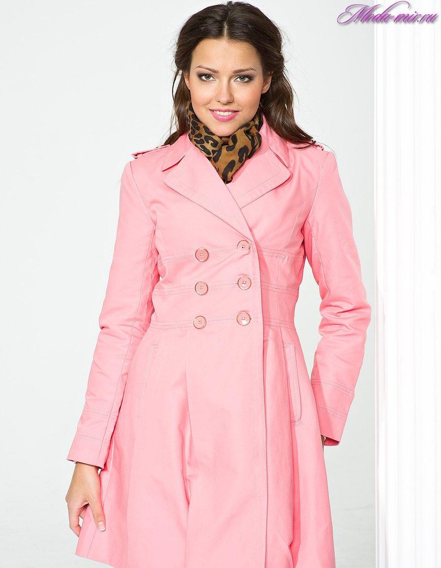 Elegante abrigo en el piso