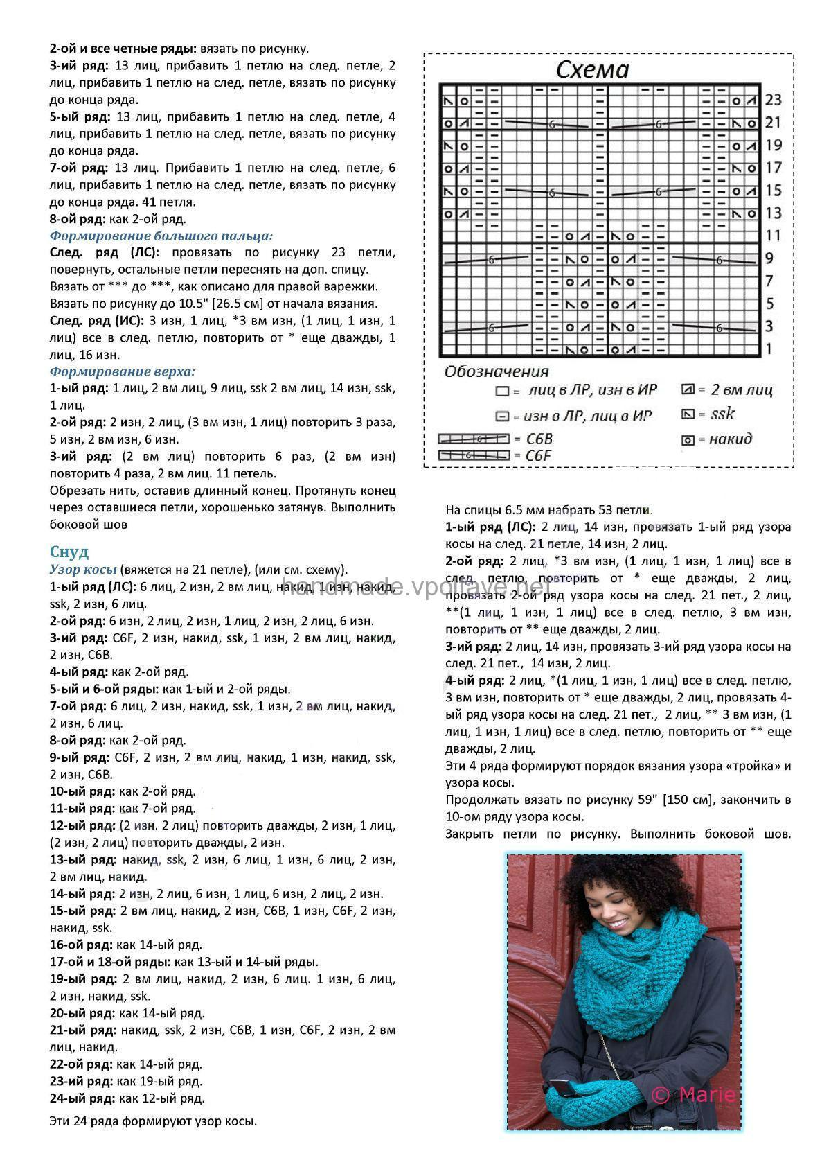 Мир вязания и рукоделия - Вязание 30