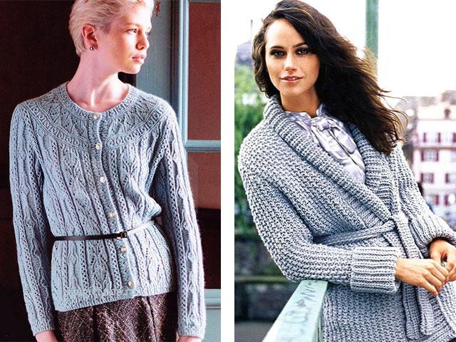 красивые вязаные пуловеры джемперапуловеры