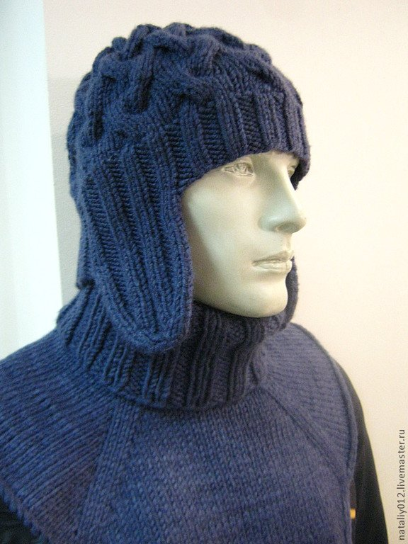 связать шапку для юноши красивую вяжем современные и модные мужские