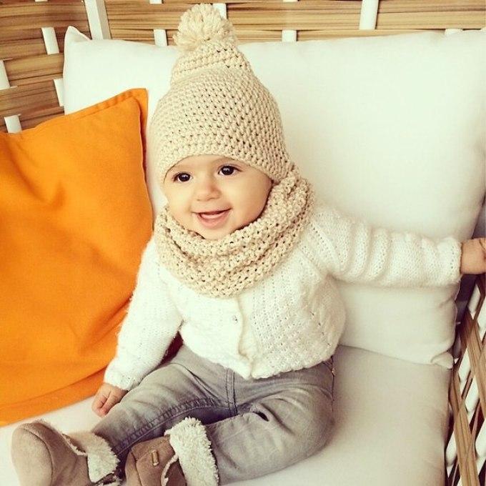 Вязание шапок для детей от 1 до 3 лет 2