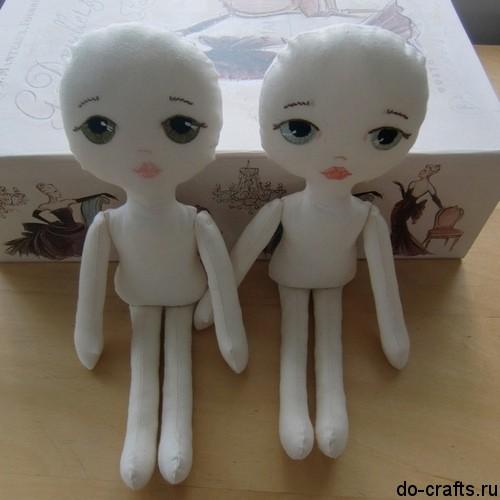 Как сделать из ткани кукол 768