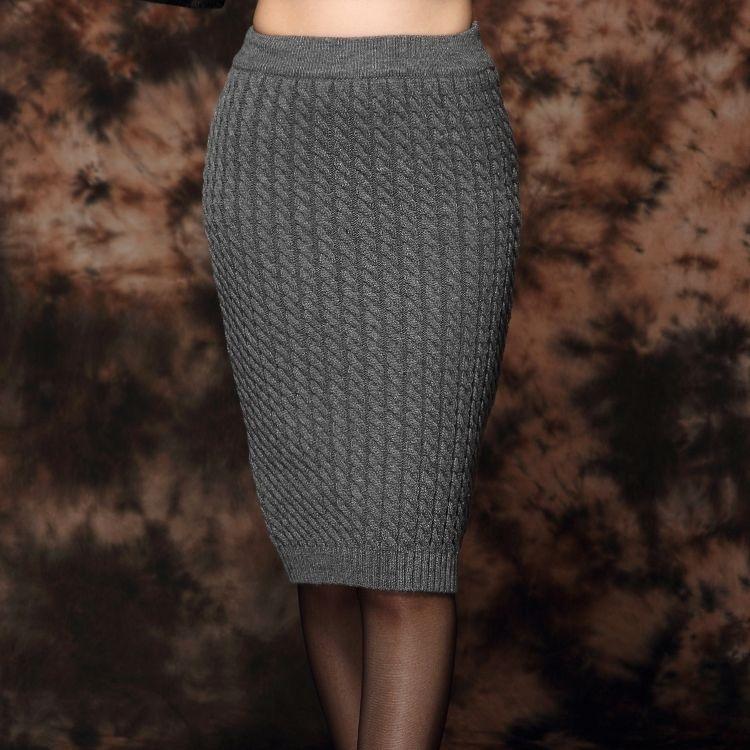 Юбка спицами. Более 30 схем вязания юбки спицами 25