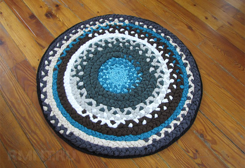 Cómo tejer alfombras. Las toallas son toallas. De la pila de filamentos