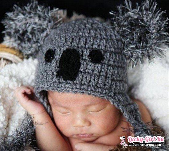 Bambini Calza Da Divertenti Ferri Per Con Cappelli Cappellini f5nq4FRwx