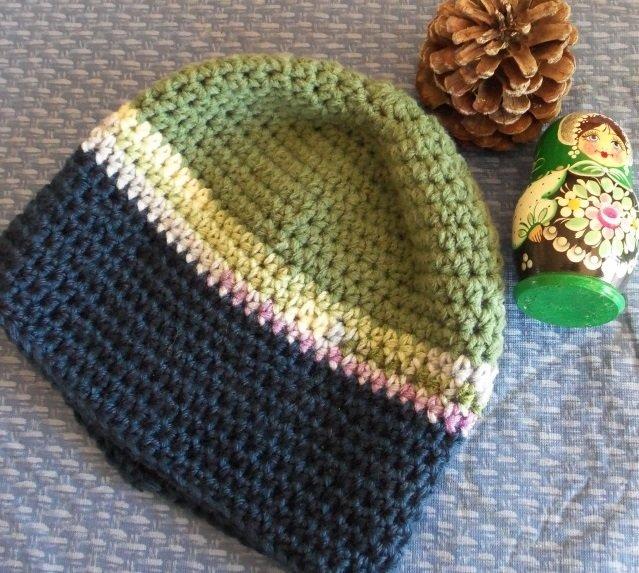Un hermoso patrón para el sombrero de un hombre. Crochet sombrero de ...