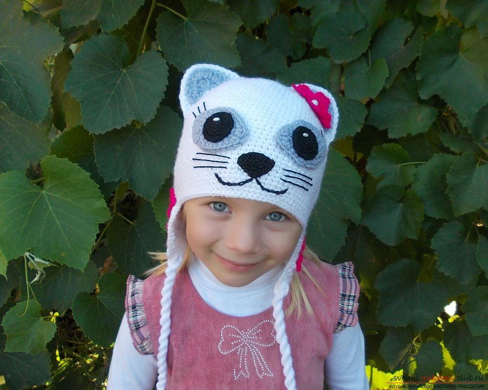 детская шапка спицами для вязание для детей важные правила